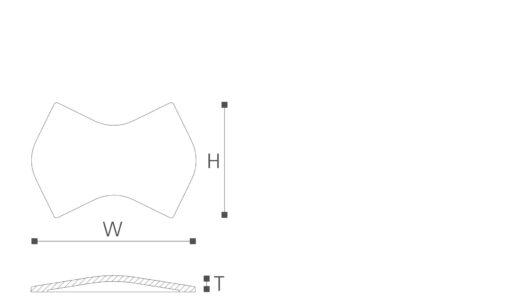 Dekorfliser Arstyl - Wing fra Deco Systems