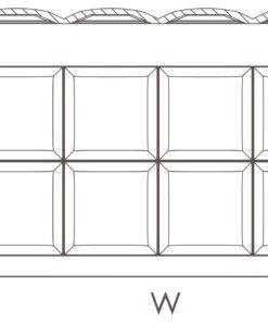 Dekorplate Arstyl Square fra Deco Systems