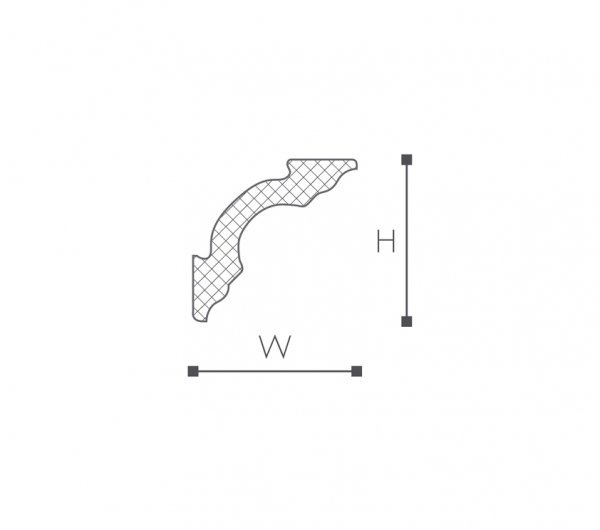 Taklist Nomastyl A3 fra Deco Systems