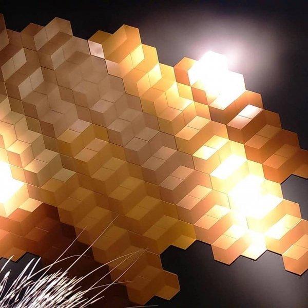 Dekorplate Cube Miljøbilde
