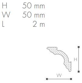 Taklist Nomastyl A2 fra Deco Systems