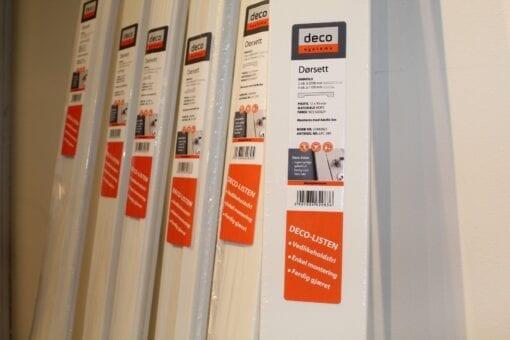 Vedlikeholdsfritt dørsett fra Deco Systems