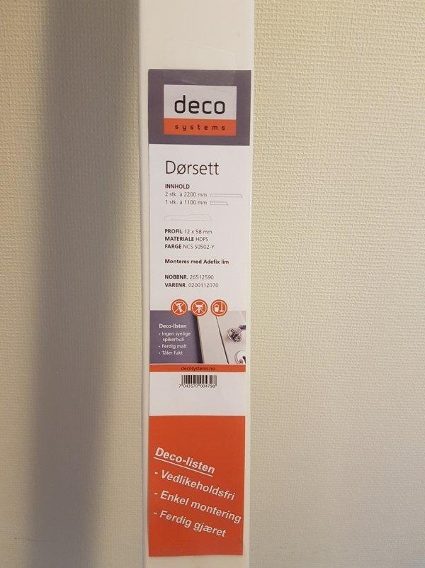 Dørsett LPC-32 fra Deco Systems