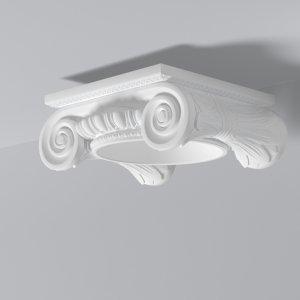 Søyle topp fra Deco Systems AS