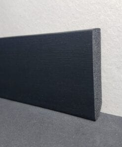 Fotlist Wallstyl FT2F HDPS 13x58 9011 Brushed fra Deco Systems