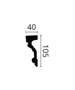 Dekorlist Arstyl Z1 fra Deco Systems
