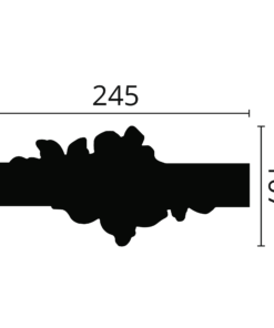 Dekorlist Z104 fra Deco Systems
