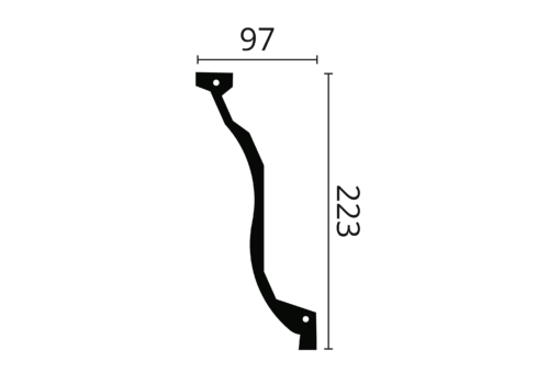 Taklist Z7 fra Deco Systems