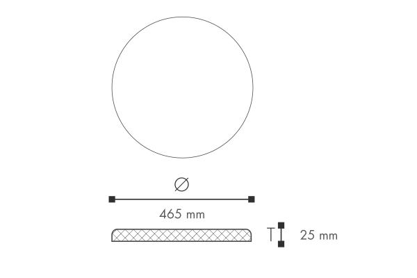 Rosett Nomastyl C33 Teknisk fra Deco Systems