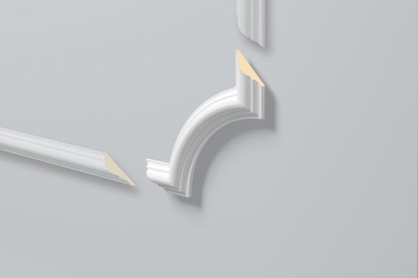 Dekorlist Z102 Hjørne fra Deco Systems