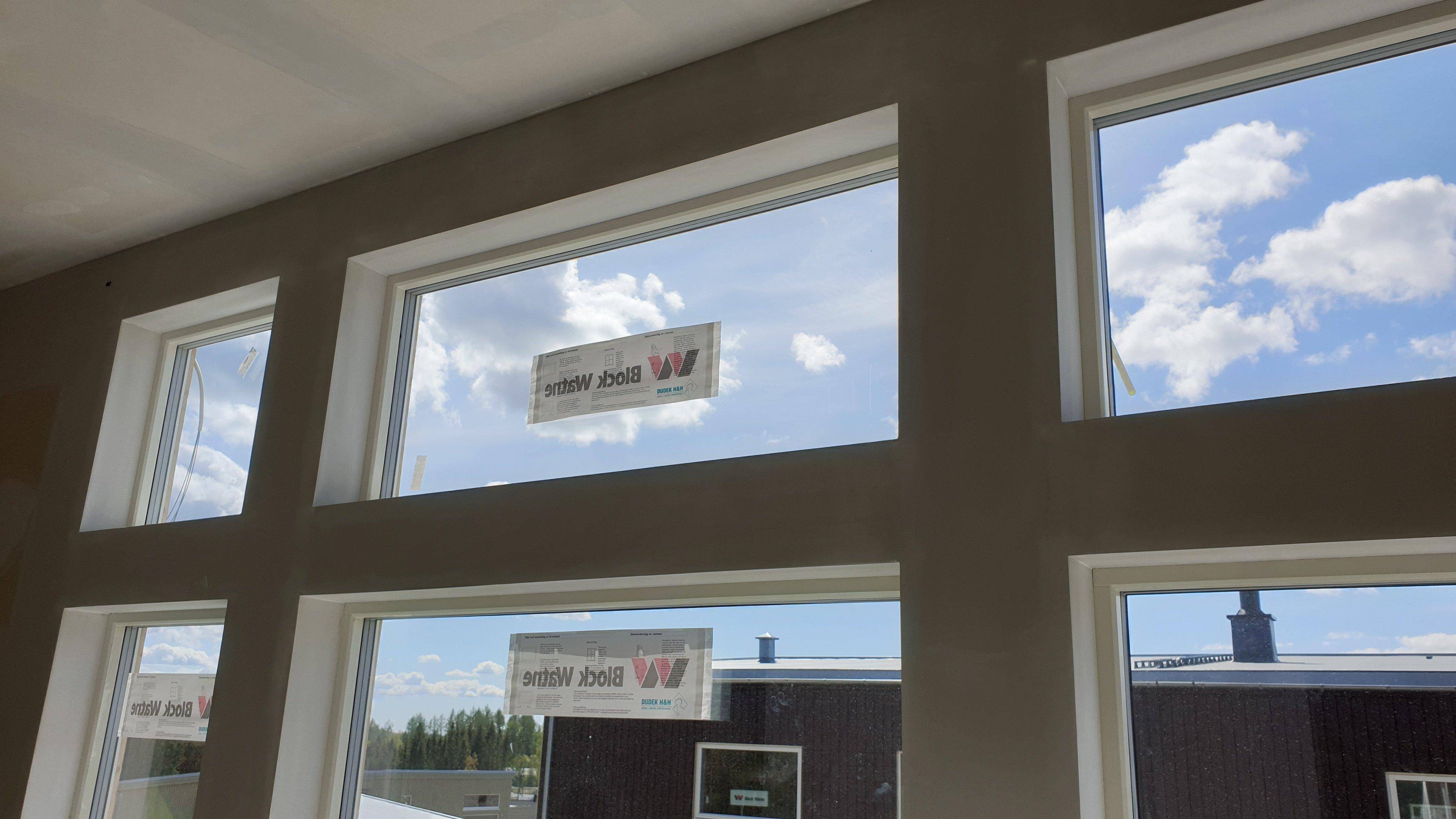 Listefrie vinduer hos Block Watne